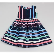 GF5025: Girls All Over Print Dress (3-8 Years)