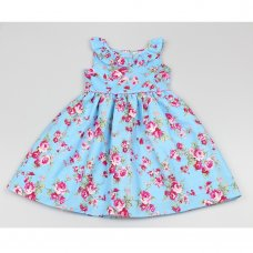 GF5030: Girls All Over Print Dress (3-8 Years)