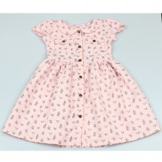 GF5035: Girls All Over Print Dress (3-8 Years)