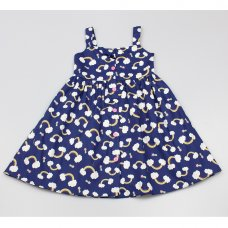 GF5036: Girls All Over Print Dress (3-8 Years)