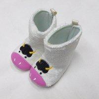 EG6280: Baby Girls Boots (0-12 Months)