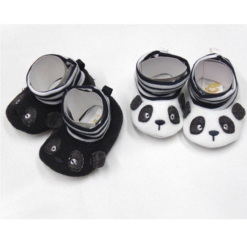 EG6281: Baby Novelty Panda Boots (0-12 Months)
