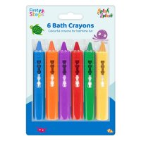 FS646: 6 Pack Children's Fun Bath & Tile Crayons