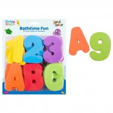 FS648: 36 Pieces Children's Bath Letters & Numbers