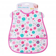 FS696: Wipe Clean PEVA Bib with Pocket