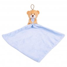 FS791: Blue Plush Toy and Comforter