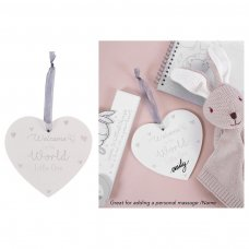 FS831: Baby Heart Plaque
