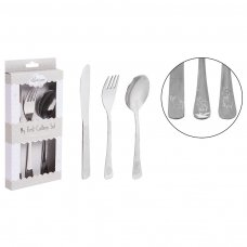 FS836: 3 Piece Stainless Steel Cutlery Set