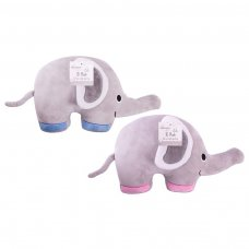 FS846: 38cm Large 3D Plush Elephant Cushion