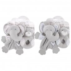 FS849: Plush Comforter & Rattle Set