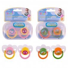 FS854: 2 Pack Daytime Soother with Steriliser Box