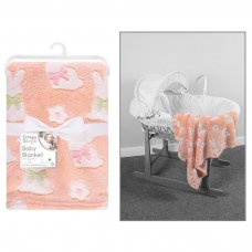 FS952: Supersoft Bunny Fleece Baby Blanket
