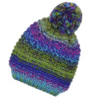 G8509: Baby Multicoloured Knitted Hat (6-24 Months)
