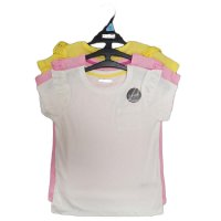 NX23: Girls 3 Pack T-Shirts (1-8 Years)