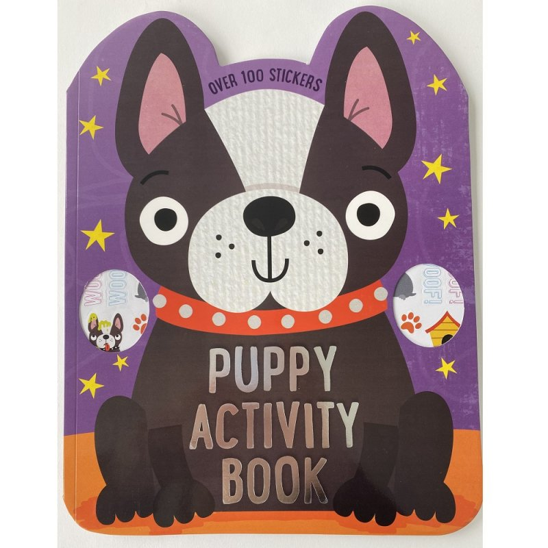 411689: Puppy 72 Page Activity Book