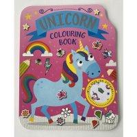 758193: Unicorn 72 Page Colouring & Stickers Book