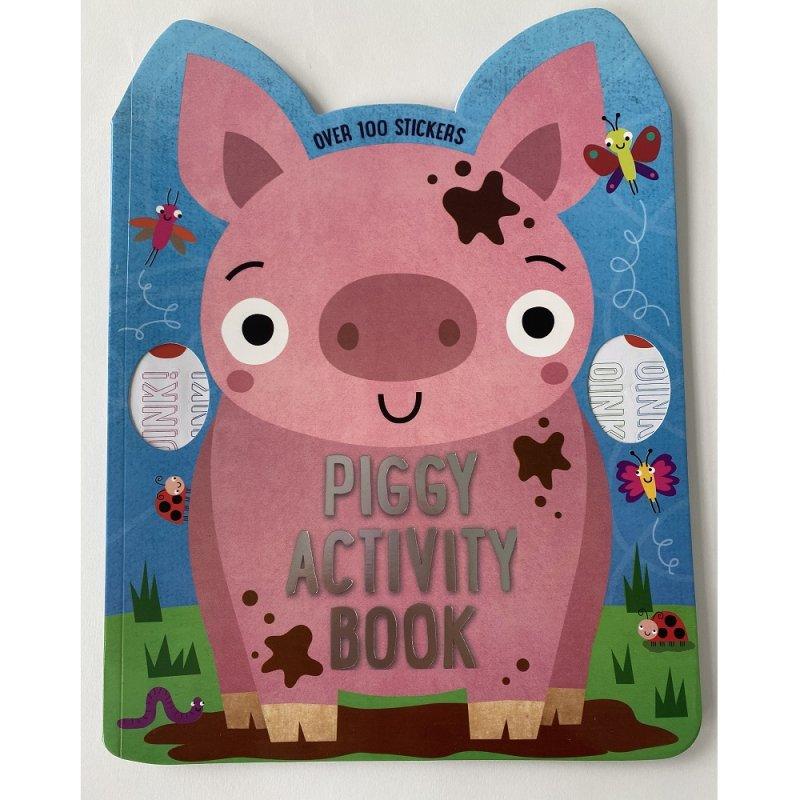 411696: Piggy 72 Page Activity Book