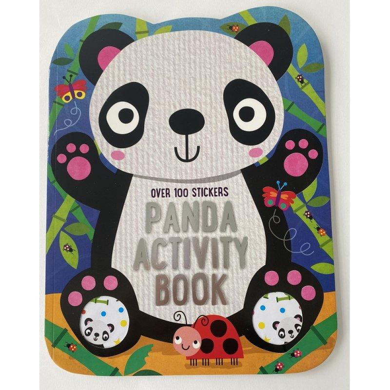 411672: Panda 72 Page Activity Book
