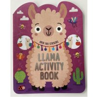 411702: Llama 72 Page Activity Book