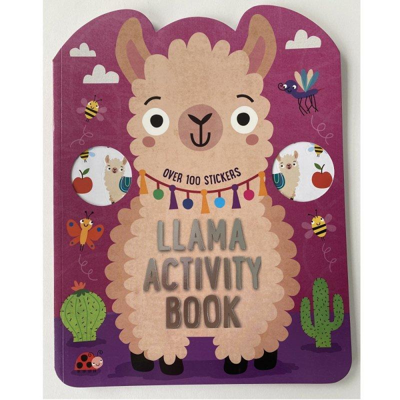 411702: Llama 72 Page Activity Book