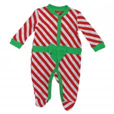 K12828: Baby Christmas Present Cotton All In One (0-9 Months)