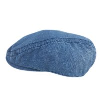 0248: Boys Denim Flat Cap (1-4 Years)