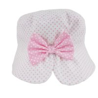 0264: Baby Girls Bow Bucket Hat (6-18 Months)