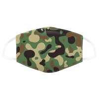 MASK48L: Camouflage Reusable Face Covering (12+ Years)