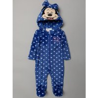 S19484: Baby Mickey Mouse Fleece Onesie/All In one (0-9 Months)