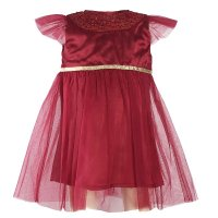 N15782: Baby Girls Occasion Dress (3-24 Months)