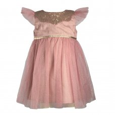 N15783: Baby Girls Occasion Dress (3-24 Months)