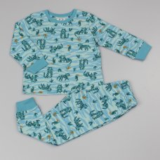 GF4155: Boys All Over Print Tiger Pyjama (2-6 Years)