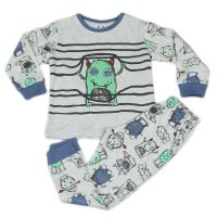 J4707: Boys Monster Pyjama (2-6 Years)