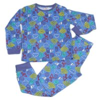 J6711: Older Boys Connected Pyjama (7-12 Years)