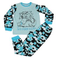 J6712: Older Boys Dino Recharging Pyjama (7-12 Years)