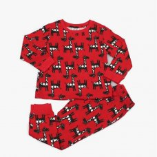 M4368: Kids All Over Print Giraffe Pyjama (2-6 Years)