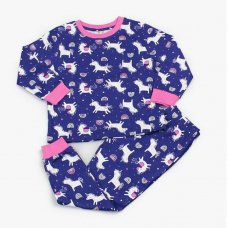 M4373: Girls Unicorn Pyjama (2-6 Years)