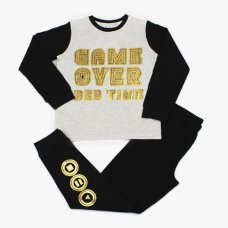 M6377: Older Boys Game Over Pyjama (7-12 Years)