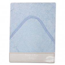 Q17157: Baby Plain Sky Hooded Towel/Robe