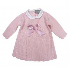 Q17431: Baby Girls Knitted Dress (3-12 Months)