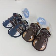 Q17485: Baby Boys Sandals  (0-12 Months)