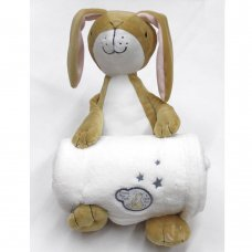 Q17897: Baby Guess How Much I Love You Soft Toy & Blanket Set