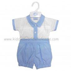 R17980: Baby Boys Shirt & Short Set (0-9 Months)