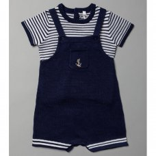R18123: Baby Boys True Knit 2 Piece Outfit (0-9 Months)
