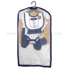 R18726: Baby Boys 6 Piece Net Bag Gift Set (NB-6 Months)
