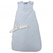 R18731: Baby Boys Embossed Stars Cotton Lined Sleeping Bag (0-18 Months, 2.5 TOG)
