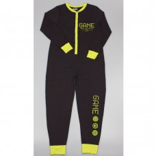 "GF6190: Boys ""Game Mode Activated"" Cotton Onesie (7-12 Years)"