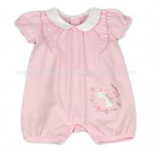 J1533: Baby Girls Unicorn Romper (0-9 Months)