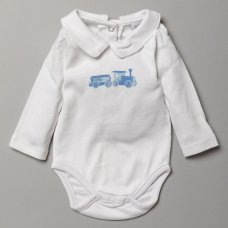 S19549: Baby Boys True Knit Cable 3 Piece Outfit (0-12 Months)