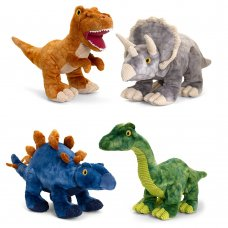 SE6580: 38cm Keeleco Dinosaurs 4 Assorted (100% Recycled)